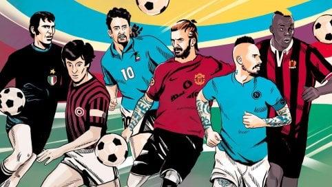 Generazione Calcio: da Rivera a Balotelli