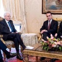 """M5s e Lega da Mattarella. Di Maio: """"Indicato Conte, sarà premier di un governo politico""""...."""