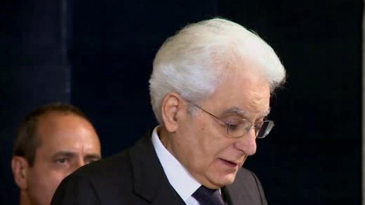 ROMA - Nella giornata di riflessione che il presidente Sergio