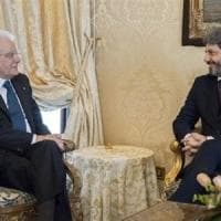 """Governo, Mattarella prende tempo. Salvini: """"O si parte o si vota"""". Grana Savona ..."""