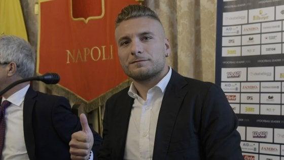 """Lazio, Immobile: """"Coppia con Insigne? Solo in Nazionale"""""""