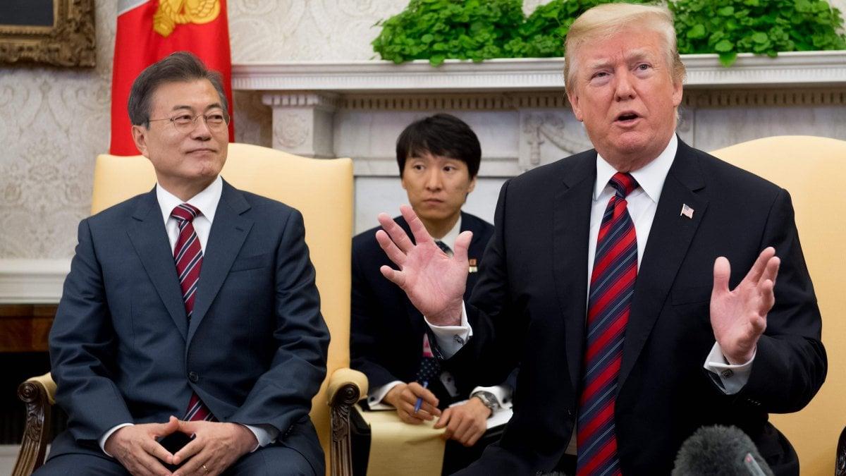 WASHINGTON - L'atteso vertice fra il presidente americano Donald Trump