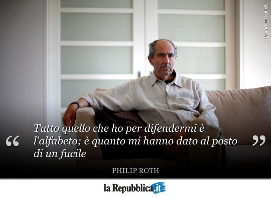 Le frasi più celebri di Philip Roth