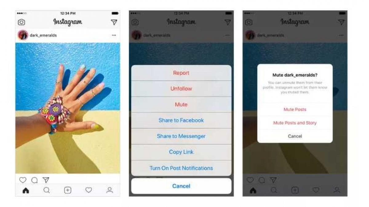 DOPO Facebook e Twitter anche Instagram si allinea alla teoria