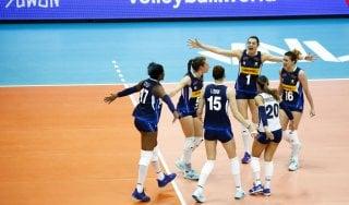 Volley, Nations League: prima gioia per l'Italia, battuta 3-0 la Germania