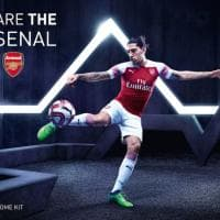 Arsenal, svelata la nuova maglia