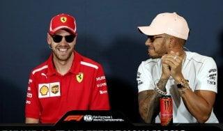 """F1, Gp Monaco, Vettel apre ad Hamilton: """"Insieme in Ferrari? Non mi dispiacerebbe"""""""
