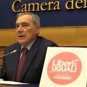 """Leu, via il nome di Grasso dal simbolo. E sul futuro i """"soci fondatori"""" sono divisi"""
