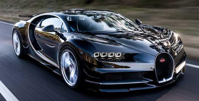 Bugatti in festa: prodotta la centesima Chiron