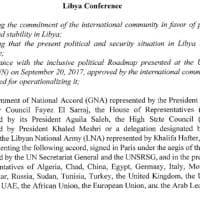 Libia, il documento 'finale' del super-vertice che vuole Macron