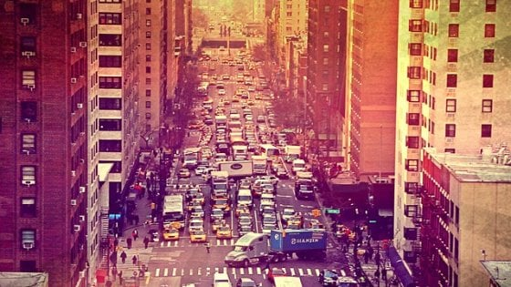 Se a NY si dimezza il traffico: un software smisterà taxi e auto
