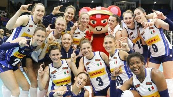 Volley, Nations League: l'Italia concede il bis, Corea del Sud ko 3-0