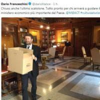 Governo, i ministri di Gentiloni lasciano gli uffici
