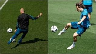La classe di Zidane è intatta: assist e gol al volo di Modric