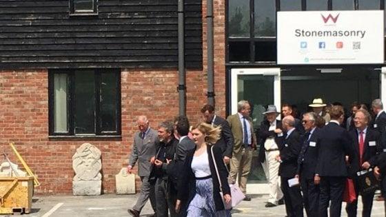 Gran Bretagna, il sindaco di Amatrice e il principe Carlo insieme per promuovere la rinascita