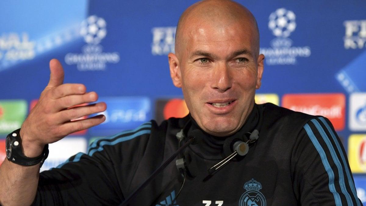 KIEV - Zinedine Zidane, lei è alla terza finale consecutiva
