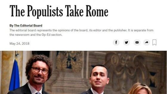 """Attacco frontale del NYT: """"Conte? Uno sconosciuto la cui unica qualifica è eseguire gli ordini"""""""