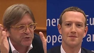 La domanda dell'eurodeputato 'demolisce' Zuckerberg in 5'
