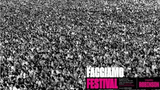 'Facciamo Festival': su Robinson in edicola domani uno speciale tra scienza, rock e 'ridicolo'