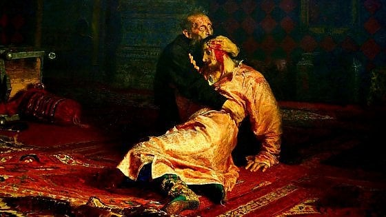 Mosca, sfregiato il Figlicidio di Ivan il Terribile: ma in Russia c'è chi lo crede un grande sovrano