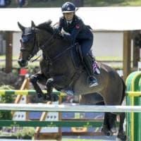 Equitazione, storica Italia a Piazza di Siena: De Luca vince il Gran Premio Roma