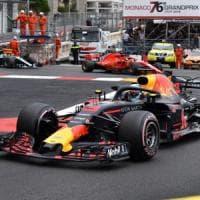 F1, Gp Monaco: vince Ricciardo nonostante problemi al motore. Secondo Vettel, poi Hamilton
