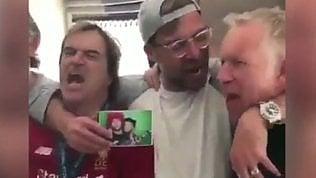 """Klopp canta con i tifosi: """"Il Real ha avuto una fortuna f..."""""""