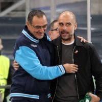 Guardiola innamorato del Napoli di Sarri:
