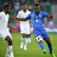 Italia, buona la prima di Mancini: e Balotelli torna al gol
