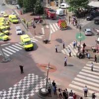 Belgio, spari nel centro di Liegi: assalitore uccide due agenti e un passante