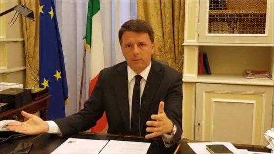"""Pd: """"Subito scioglimento Camere e voto"""". Renzi: """"Ora un fronte anti-sfascisti, io mediano"""""""