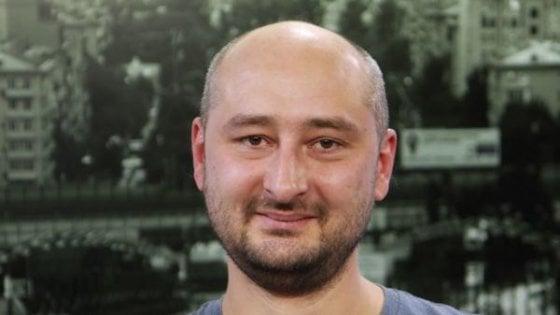 Ucciso in Ucraina il giornalista e dissidente russo Arkadij Babchenko