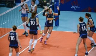 Volley donne, Nations League: riscatto Italia, battuta 3-0 l'Argentina