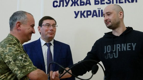 E' vivo Arkadij Babchenko, il giornalista russo dato per morto in Ucraina