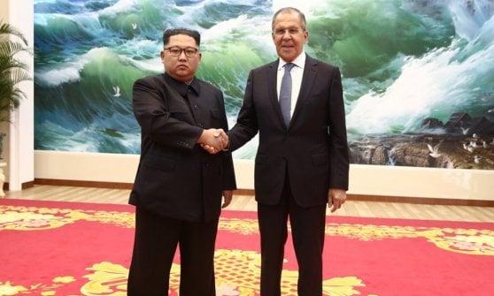 Coree, si lavora al summit: Pompeo vede l'inviato di Kim, Lavrov a Pyongyang