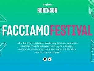 Facciamo Festival: oltre 120 eventi in Italia, mese             per mese e città per città                a cura del VISUAL LAB