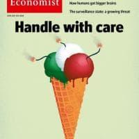 """Crisi governo, la copertina dell'Economist: """"Un gelato pronto a esplodere, maneggiare con cura"""""""