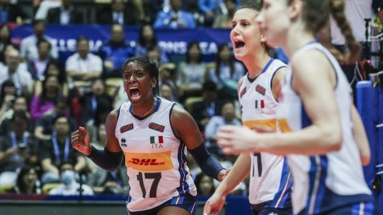 Volley donne, Nations League: Cina battuta 3-1, l'Italia resta in corsa per la Final Six