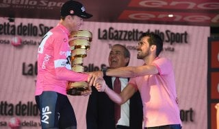 """Ciclismo, l'attacco di Fanini: """"Contador che premia Froome tra le pagine più nere della storia del Giro"""""""