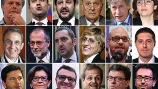 Ecco tutti i ministricon Salvini all'Interno, Di Maio al Lavoro e Savona alle Politiche Ue