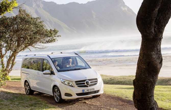 Mercedes-Benz Rise, la Classe V formato convenienza