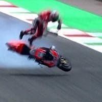 MotoGp, Mugello: Iannone il più veloce nelle libere. Paura per Pirro dopo caduta a 350 km/h: