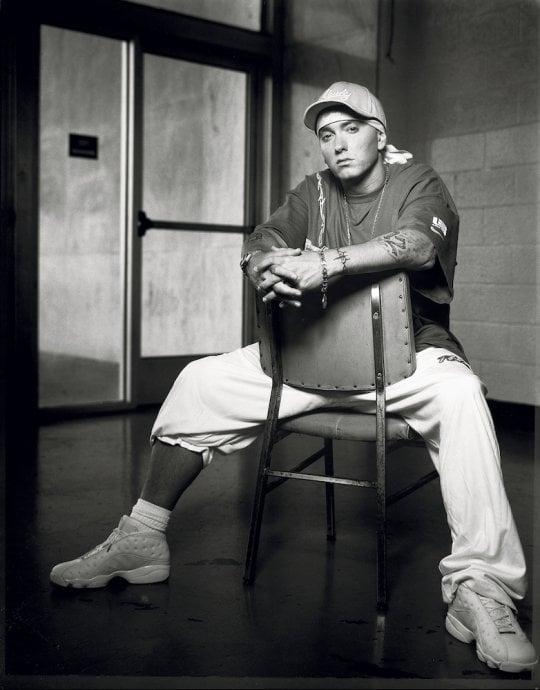 """Da Jay-Z a Eminem, l'hip hop negli scatti di Lavine: """"Difficili averli sul set in orario"""""""