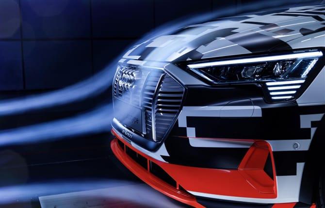 Audi e-tron Prototipo, questione di aerodinamica