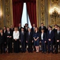 Governo, le immagini del giuramento dei ministri al Quirinale