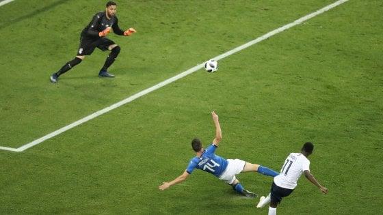 Francia-Italia 3-1: gli azzurri non demeritano, ma transalpini troppo forti