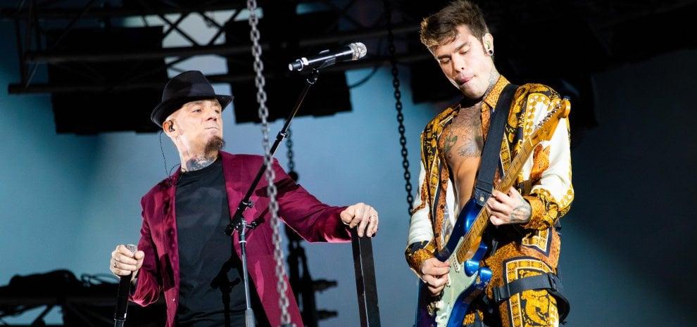 """Fedez e J-Ax al Meazza: """"Senza la musica non avremmo le cose più belle della vita"""""""