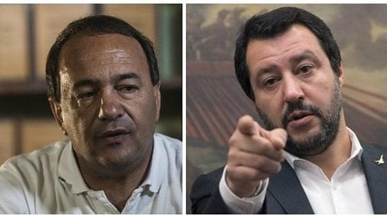 """Migranti, Salvini attacca il sindaco di Riace: """"Sei uno zero"""". E lui risponde: """"Orgoglioso di aiutare gli ultimi"""""""
