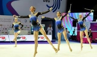 Ginnastica, Europei ritmica: le Farfalle azzurre conquistano l'argento