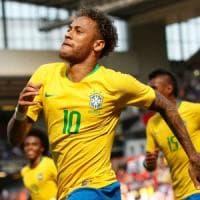 Amichevoli, Brasile-Croazia 2-0: Neymar torna e segna